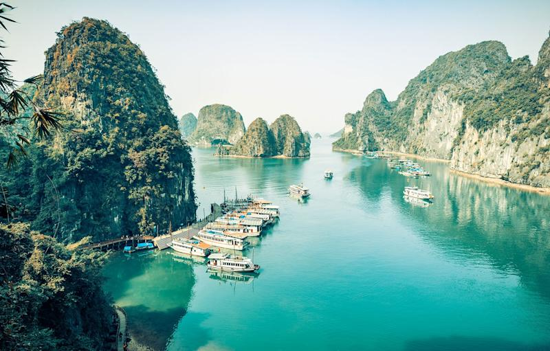 Tranquil Halong Bay is a big draw for cruise passengers - Copyright: adrien chanut