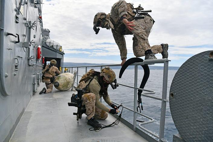 Croatia, Hungary, and the US Navy special operations Adriatic Sea