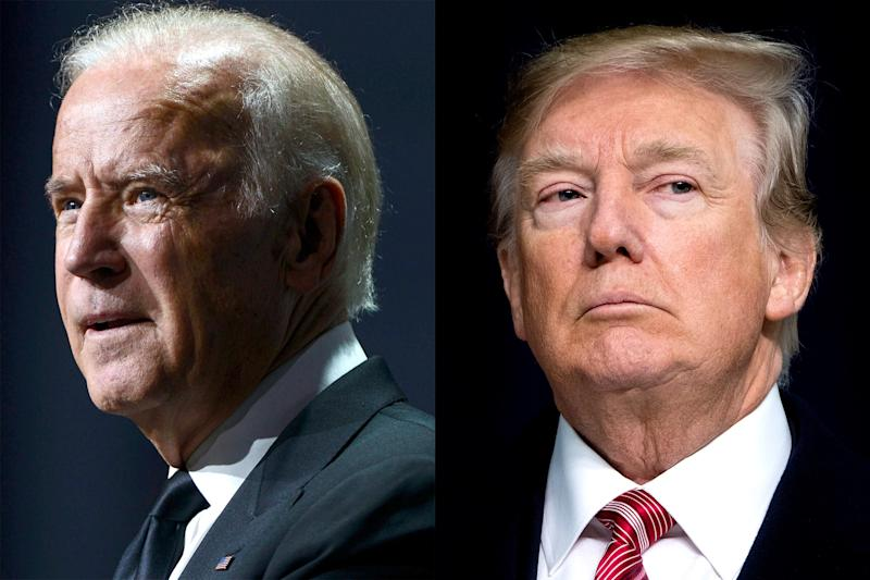 Trump and Biden Limber Up for Battles in Iowa