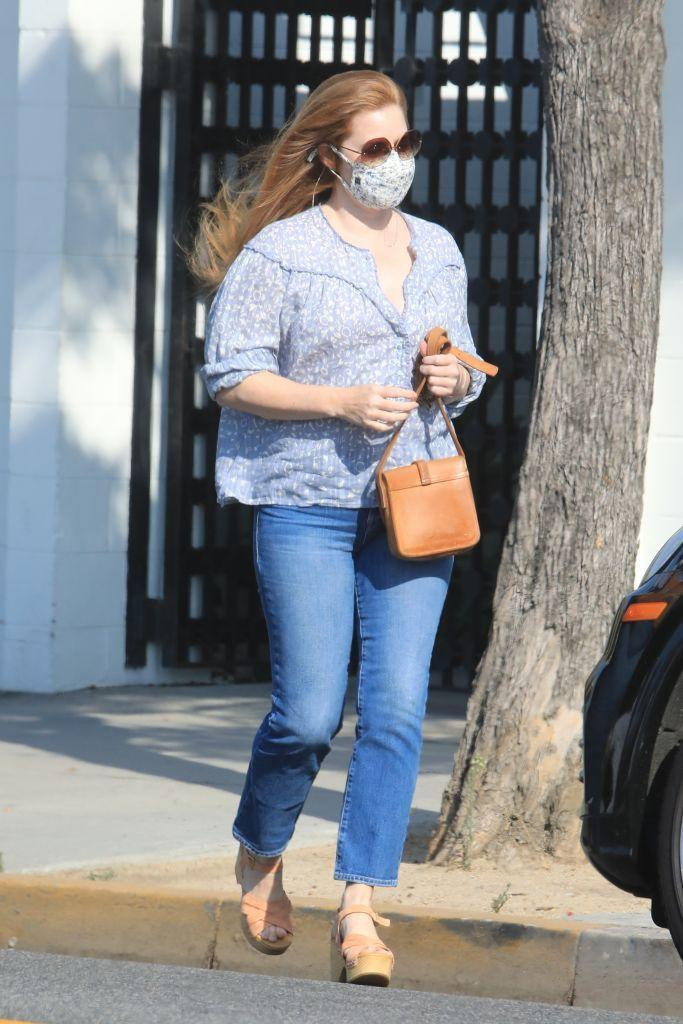 <p>The actor was spotted in LA.</p>