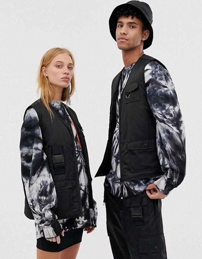 """We love how everyone can jump on this trend bandwagon. $48, ASOS. <a href=""""https://us.asos.com/collusion/collusion-unisex-vest-with-utility-pocket/prd/11002016?"""">Get it now!</a>"""