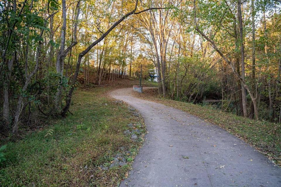 Campbell Creek Greenway in Charlotte.