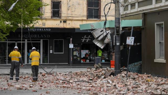 In an unusually powerful temblor for Australia, a 5.9 magnitude earthquake hit suburban Melbourne on Wednesday, albeit it caused slight damage. AP