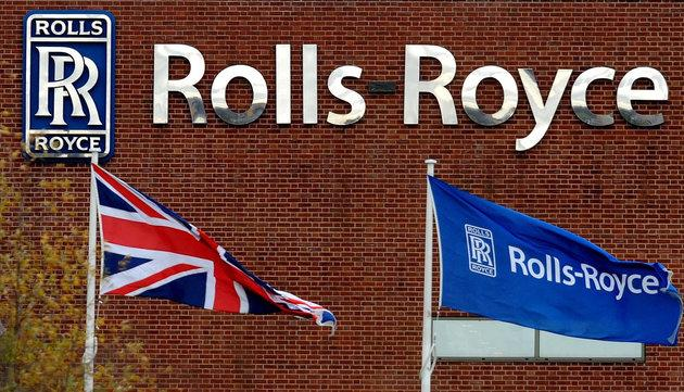Rolls Royce HQ in Derby.