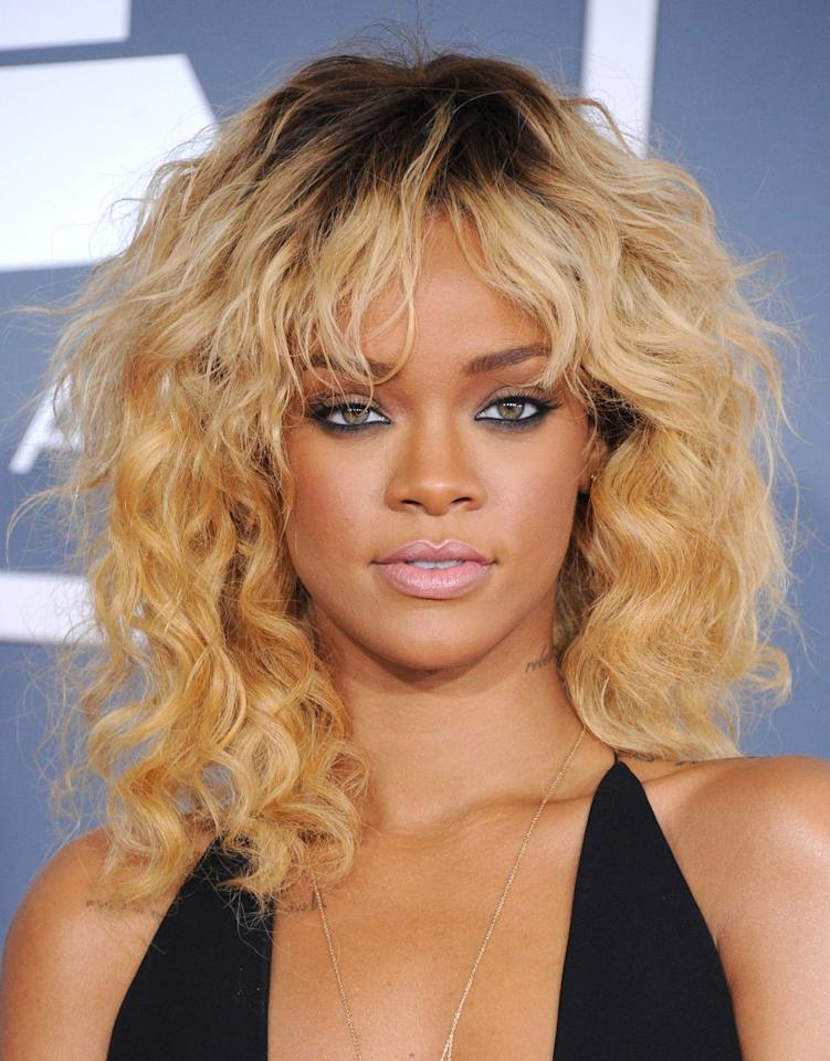 <p>When Rihanna wore visible roots with buttery blonde curls, I knew I could wear visible roots with buttery blonde curls.  </p>