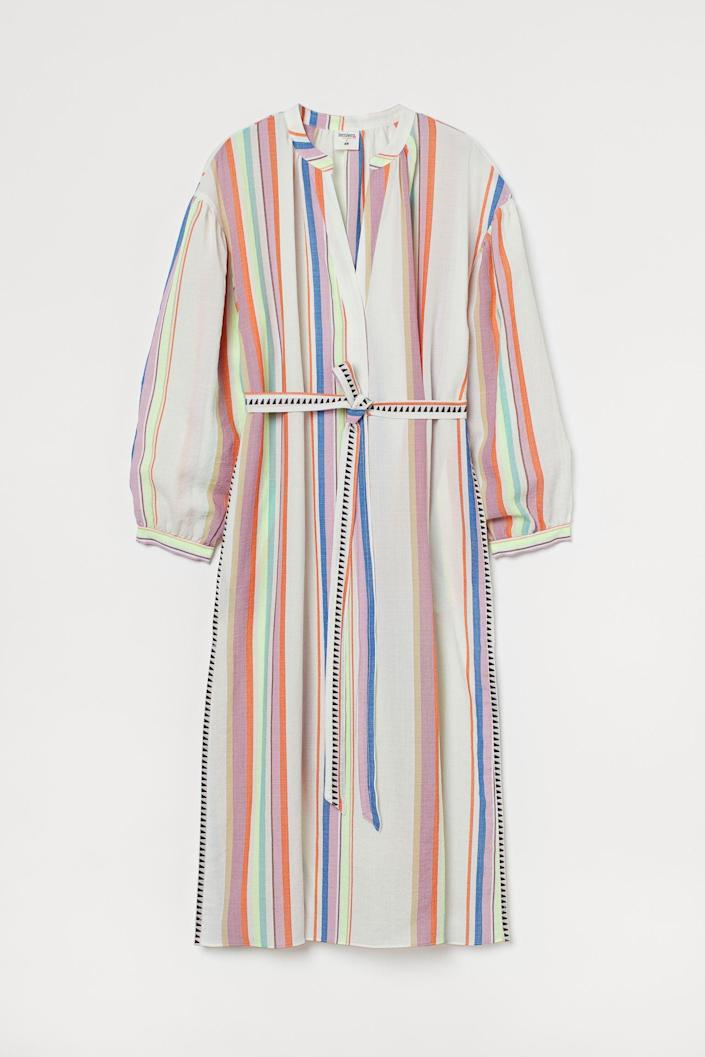 <p>This <span>Lyocell-blend Kaftan Dress</span> ($35) is ready for a chic brunch date or an elevated beach day.</p>