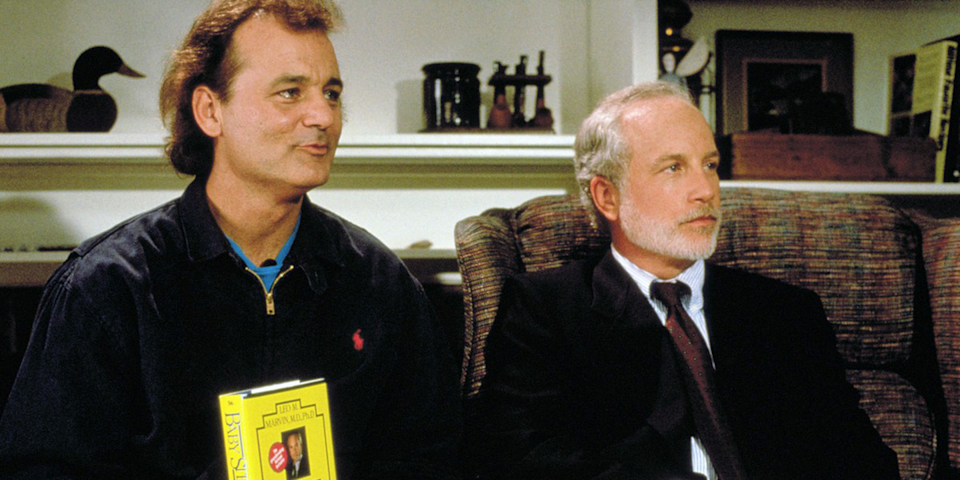 <p>Even if your therapist is Richard Dreyfuss, you really should not follow him to his vacation home. </p>