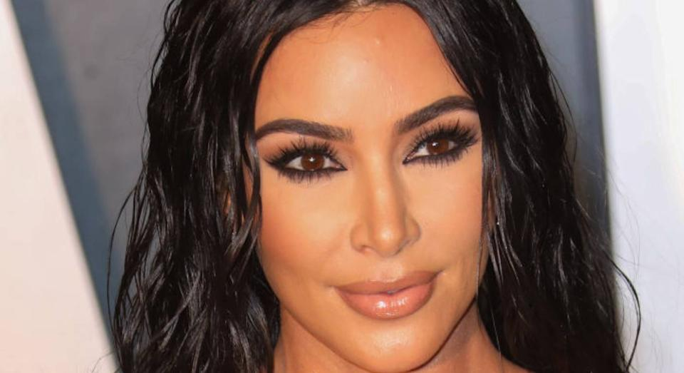 Kim Kardashian's non-medical face masks sell out in under an hour. (Getty Images)