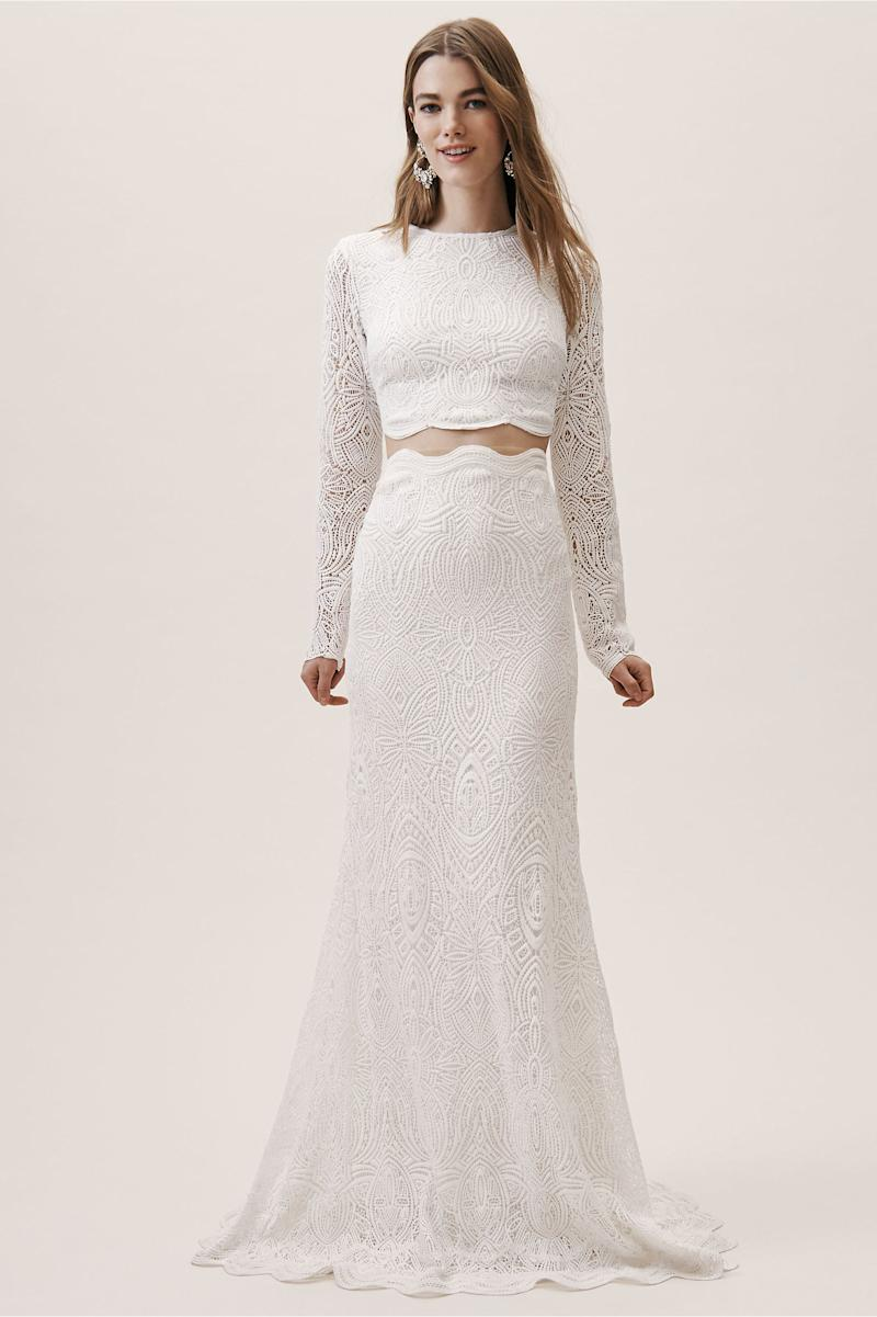 f09ccce28e7 19 Bridal Separates Sets for a Modern Bridal Moment
