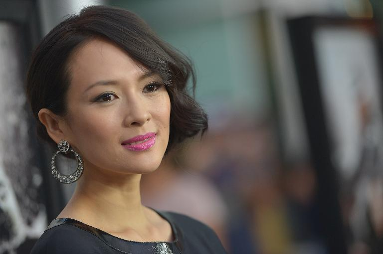 In this file photo, actress Ziyi Zhang arrives for screening of a movie at the Arclight Theatre in Los Angeles, California, on August 22, 2013