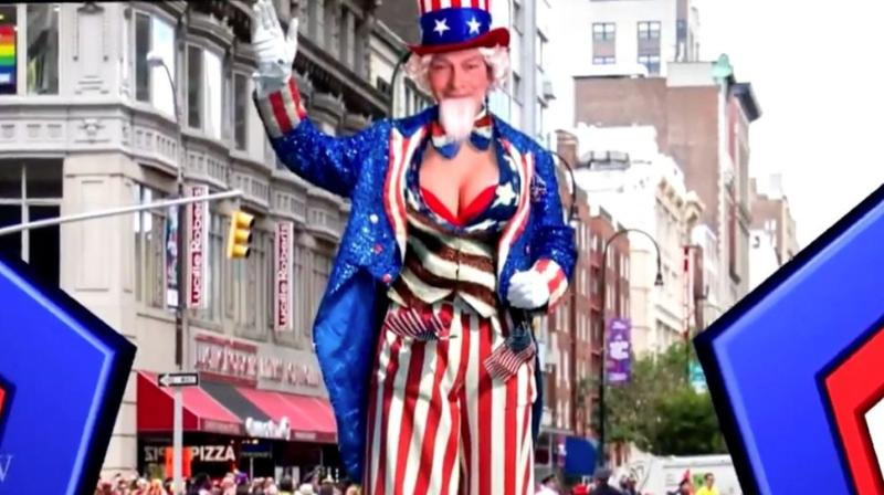 Boom! Stephen Colbert Gives Trump The Parade He Deserves