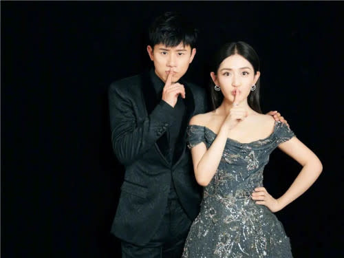 Xie Na and Jason Zhang were mum about their third baby