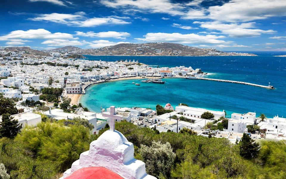 <p>Mykonos has it all. From a buzzing night life scene to sun soaked beaches, iconic architecture, and unparalleled Greek food, what more could you want out of a European island vacation? There's a reason it's one of the most popular destinations in the world.</p>