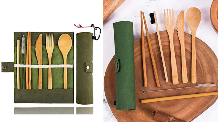 You'll even get a cute carrying case and a reusable straw.