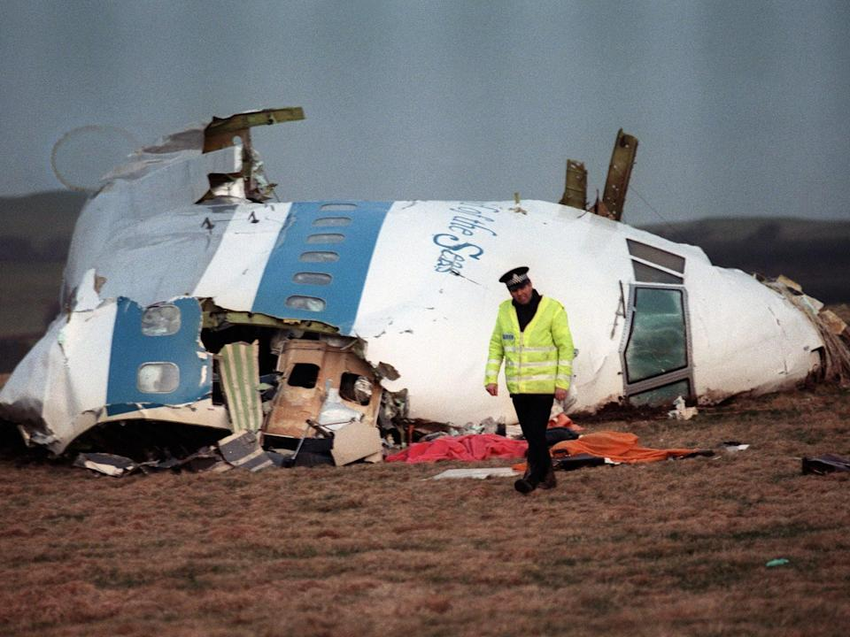 <p>Pan Am flight 103 came down over Lockerbie, Scotland, in 1988, killing 270 people.</p> (AFP via Getty Images)