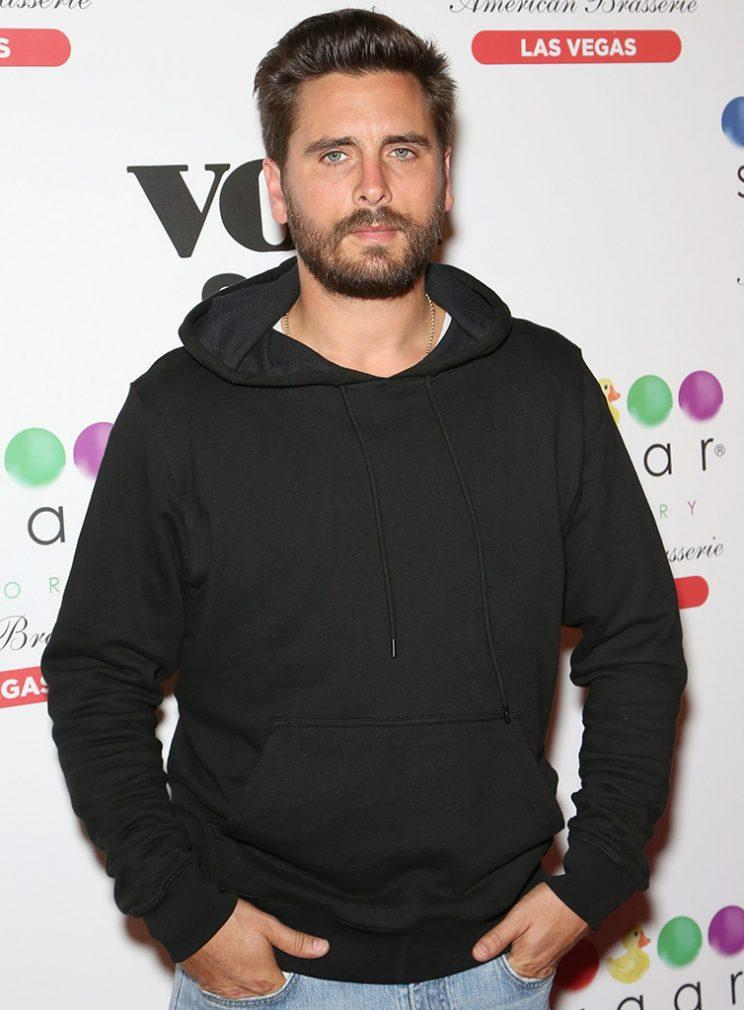 Scott Disick says he's a sex addict. (Photo: Gabe Ginsberg/Getty Images)