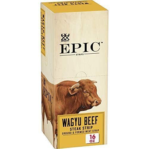 """<p><strong>Epic Provisions</strong></p><p>amazon.com</p><p><strong>$38.99</strong></p><p><a href=""""https://www.amazon.com/dp/B01N24QGE2?tag=syn-yahoo-20&ascsubtag=%5Bartid%7C2140.g.35902212%5Bsrc%7Cyahoo-us"""" rel=""""nofollow noopener"""" target=""""_blank"""" data-ylk=""""slk:Shop Now"""" class=""""link rapid-noclick-resp"""">Shop Now</a></p><p>Rodgers says meat bars are a perfect fit for the Whole30 diet, especially <a href=""""https://epicbar.com/bars-overview"""" rel=""""nofollow noopener"""" target=""""_blank"""" data-ylk=""""slk:Epic Provisions"""" class=""""link rapid-noclick-resp"""">Epic Provisions</a>. For around 140 calories a pop and eight grams of protein and fat each, Epic's beef, venison, wild boar, lamb, and bison bars are gluten-free and paleo-friendly. Flavors like Bison Bacon Cranberry, Chicken Sriracha, and Lamb Currant Mint have recognizable ingredients (bison, cured bacon, dried cranberries, and seasonings) that are all Whole30-friendly. </p><p>""""I love the folks at Epic Provisions because they source from regenerative farms,"""" says Rodgers. The company's animals are raised on open pastures, according to their website, and are devoted to biodynamic ranching practices. Epic also offers jerky, snack bites, and trail mix that are handy when you're on the go.</p>"""