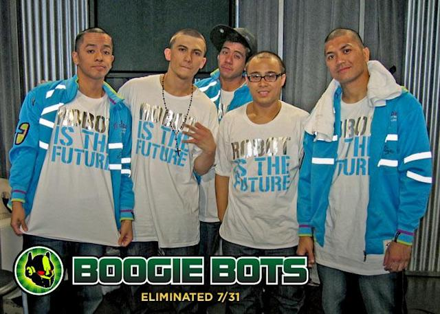 Despite What Their T Shirts Say Robot Apparently Isnt The Future ABDC Season 2 Eliminations