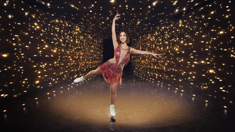 Myleene Klass is a contestant on the 2021 series of 'Dancing on Ice'. (ITV)