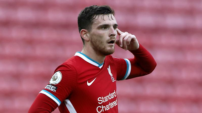 'A few years ago, it would have gotten to me' - Robertson thanks Liverpool team-mates after bouncing back from blunder