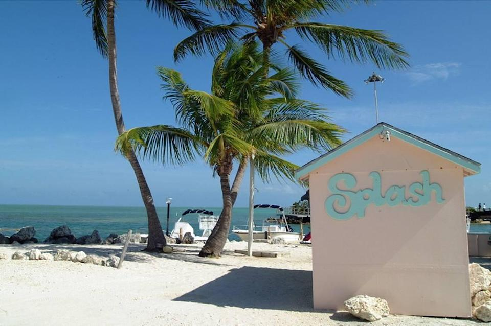 Key Largo was one of two small towns in the Florida Keys that intrigue would-be tourists.