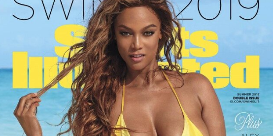 Tyra Banks Is The Cover Star Of Sports Illustrated Swimsuit For First Time In 22 Years