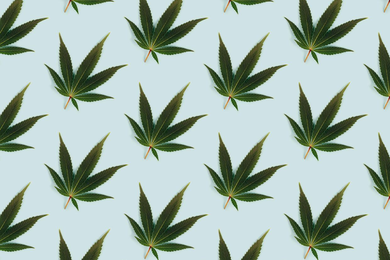 """Nicknamed """"diet weed"""" by those who use it, Delta-8 THC looks and smells like the real thing, except without psychoactive side effects — but it has experts worried. Here's why. (Photo: Getty Images)"""
