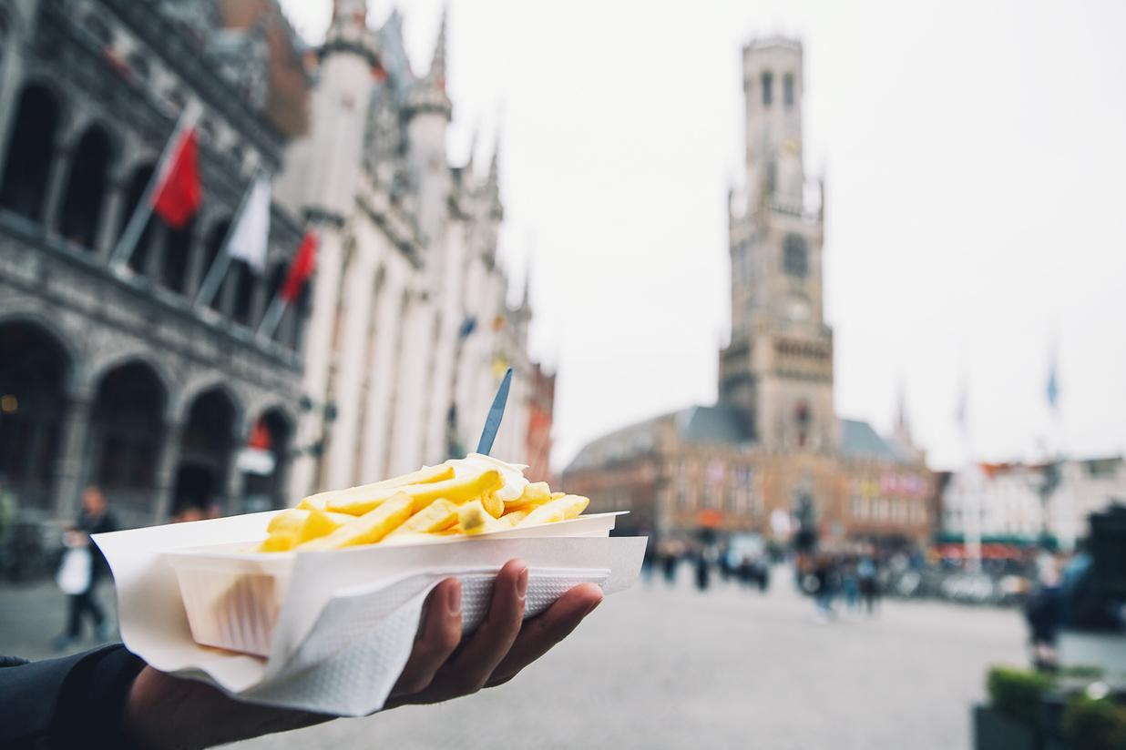 Bruges chip tax: Tourists pay more for frites