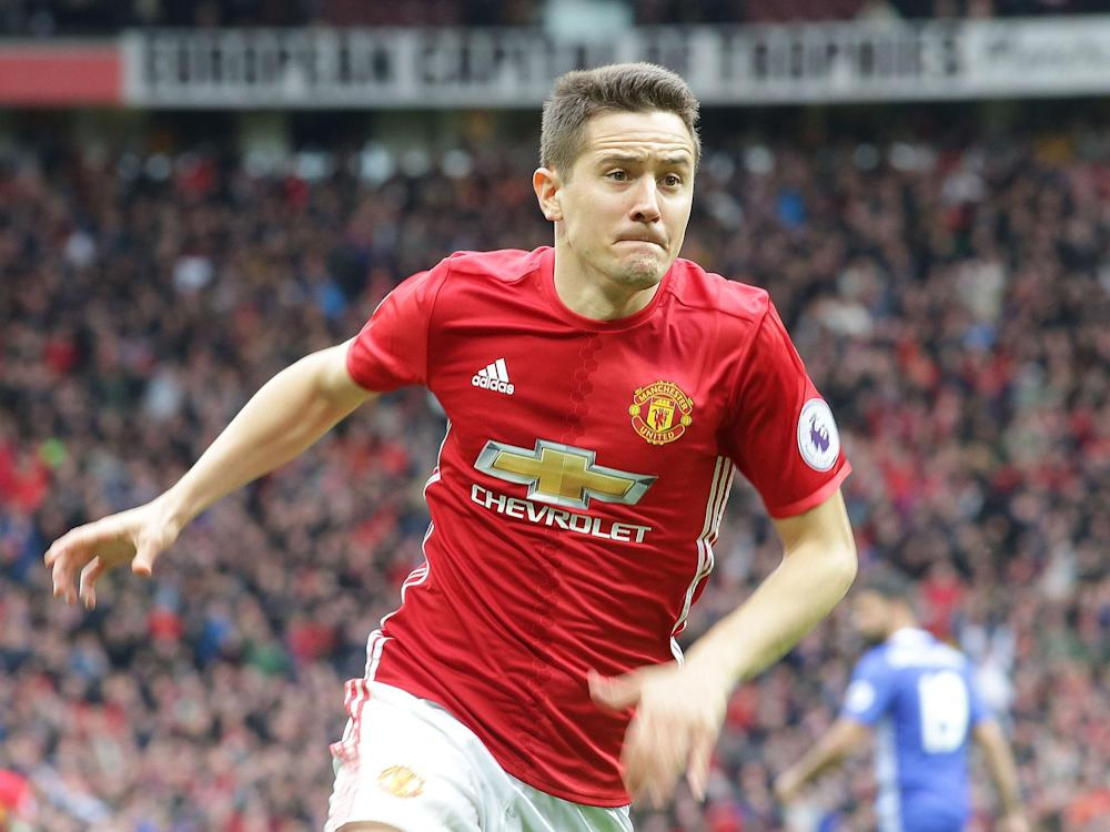 Ander Herrera believes Thursday's derby with rivals City will be crucial: Getty