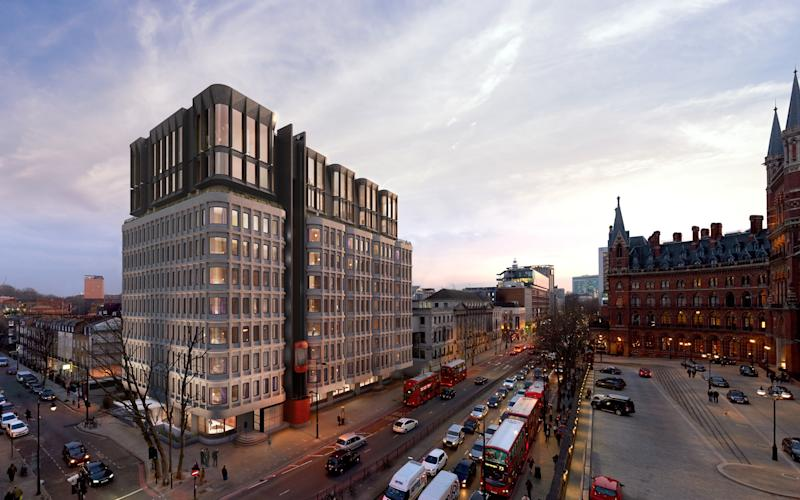 The Standard London is set to open next July in Kings Cross, opposite St Pancras station