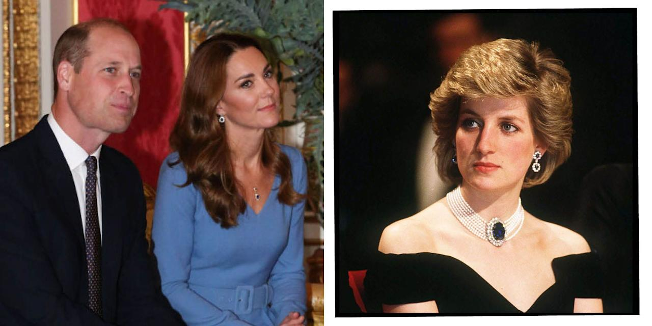 "<p><a href=""https://www.elle.com/uk/fashion/celebrity-style/articles/g16440/kate-middleton-s-style-file/"" target=""_blank"">Kate Middleton</a> has more in common with her late mother-in-law Princess Diana than simply Prince William. Alongside her philanthropic drive and love of children, the Duchess of Cambridge also shares Lady Diana Spencer's sense of style. </p><p>More than once, the mother-of-three has mirrored some of the <a href=""https://www.elle.com/uk/fashion/celebrity-style/articles/g10737/princess-diana-fashion-moments/"" target=""_blank"">style icon</a>'s best looks, proving though the mother of Prince Harry and William, who passed away in 1997, has a sartorial legacy that still lives on.</p><p>Here are Kate's best Diana-inspired ensembles. </p>"