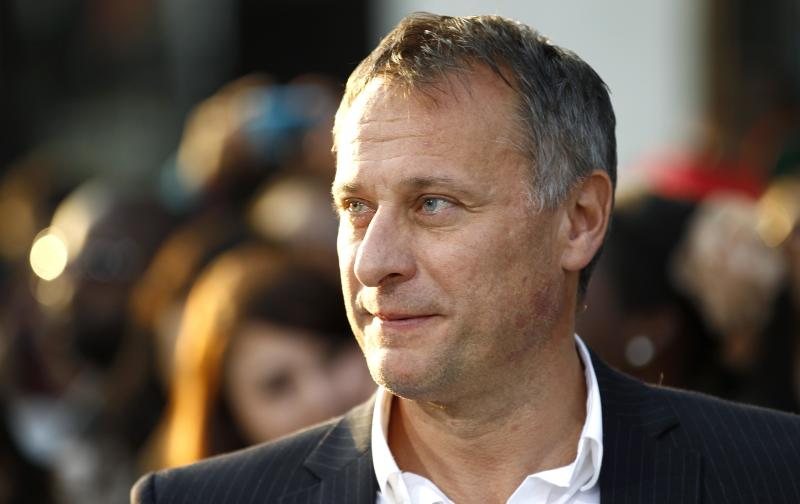 "FILE-  This Thursday, Sept. 15, 2011 file photo shows cast member Michael Nyqvist as he arrives at the premiere of ""Abduction"" in Los Angeles.    (AP Photo/Matt Sayles, FILE)"