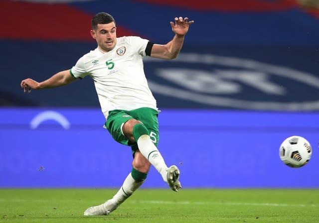 Republic of Ireland defender John Egan is already looking to September's World Cup qualifiers