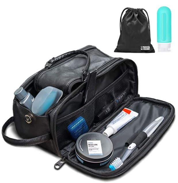 "Find this QS Dopp Kit for $25 on <a href=""https://amzn.to/2WGSbTY"" rel=""nofollow noopener"" target=""_blank"" data-ylk=""slk:Amazon"" class=""link rapid-noclick-resp"">Amazon</a>."
