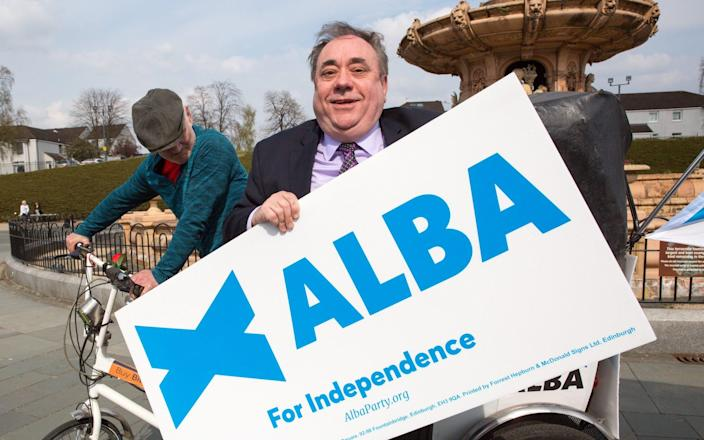 The SNP fears the polls could be underestimating support for Alex Salmond's new party - Robert Perry/EPA-EFE/Shutterstock