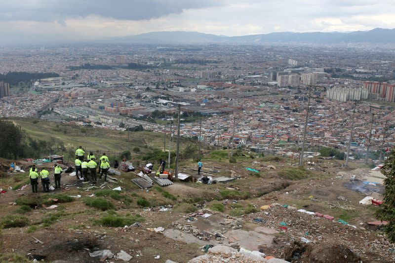 Evictions amid COVID-19 outbreak in Bogota