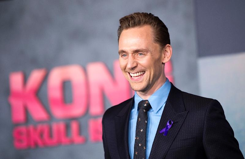 """Actor Tom Hiddleston attends the Los Angeles premiere of Warner Bros """"Kong: Skull Island"""" at the Dolby Theatre, on March 8, 2017, in Hollywood, California"""