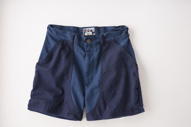 Patagonia put a secret message on the tag of its Road to Regenerative shorts. (Photo: Patagonia)