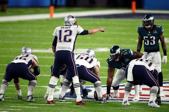 Tom Brady and the Patriots got on the board early in Super Bowl LII. (Getty Images