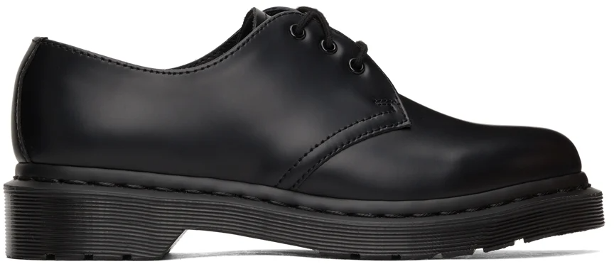 """<h2>Dr. Martens Oxford Mono Derbys</h2><br>""""I love my Dr. Martens Mono Derbys, but I've had the same pair for at least six years and am wayyyy overdue for a replacement. They're super comfortable, go with literally any outfit (I love wearing them with skirts and big sweaters in the fall), and they're my go-to shoe for wet and rainy days."""" – <em>Kate Spencer</em>, <em>Creative & Updates Editor</em><br><br><em>Shop <a href=""""https://www.ssense.com/en-us/men/designers/dr-martens"""" rel=""""nofollow noopener"""" target=""""_blank"""" data-ylk=""""slk:Dr. Martens at SSENSE"""" class=""""link rapid-noclick-resp"""">Dr. Martens at SSENSE</a></em><br><br><strong>Dr. Martens</strong> Black 1461 Mono Derbys, $, available at <a href=""""https://go.skimresources.com/?id=30283X879131&url=https%3A%2F%2Fwww.ssense.com%2Fen-us%2Fwomen%2Fproduct%2Fdr-martens%2Fblack-1461-mono-derbys%2F6965501"""" rel=""""nofollow noopener"""" target=""""_blank"""" data-ylk=""""slk:SSENSE"""" class=""""link rapid-noclick-resp"""">SSENSE</a>"""
