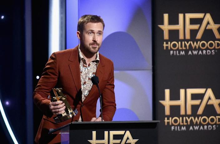 Ryan Gosling is no stranger to advocacy in Africa -- for a decade, he's been working with the Enough Project, which aims to end mass atrocities in the continent's conflict hotspots (AFP Photo/Tommaso Boddi)