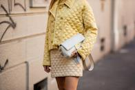 """<p>Fall will be here before you know it, so if you haven't picked up a <a href=""""https://www.cosmopolitan.com/style-beauty/fashion/g33588609/best-fall-jackets-coats-for-women/"""" rel=""""nofollow noopener"""" target=""""_blank"""" data-ylk=""""slk:new jacket"""" class=""""link rapid-noclick-resp"""">new jacket</a>, now's the best time to do so. However, finding the perfect fall jacket is easier said than done. In a perfect world, you'd find something that keeps you warm, has pockets, is comfortable, looks good, <em>and</em> is super affordable. But with so many styles, brands, and price points to choose from, sifting through the clutter and finding one layer that does it all can be overwhelming. Fear not, help is on the way.</p><p>Please scroll on to find 10 very stylish (and affordable!) fall jackets the internet is low-key vibing with. Whether you're on the hunt for a cute shearling, simple fleece, or sleek leather jacket, there's bound to be something for you, below. Best of all? Every one of these is available on Amazon, so you can make the most of your Prime membership and have this delivered to your doorstep in no time. </p>"""