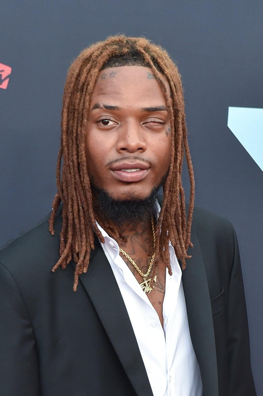 NEWARK, NEW JERSEY - AUGUST 26: Rapper Fetty Wap attends the 2019 MTV Video Music Awards red carpet at Prudential Center on August 26, 2019 in Newark, New Jersey. (Photo by Aaron J. Thornton/Getty Images)