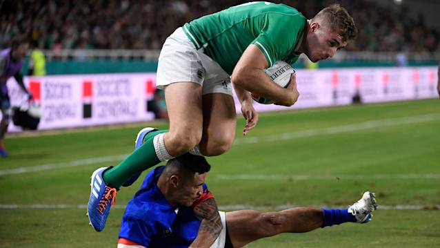 Wake up with the World Cup: Ireland cruises into quarterfinals