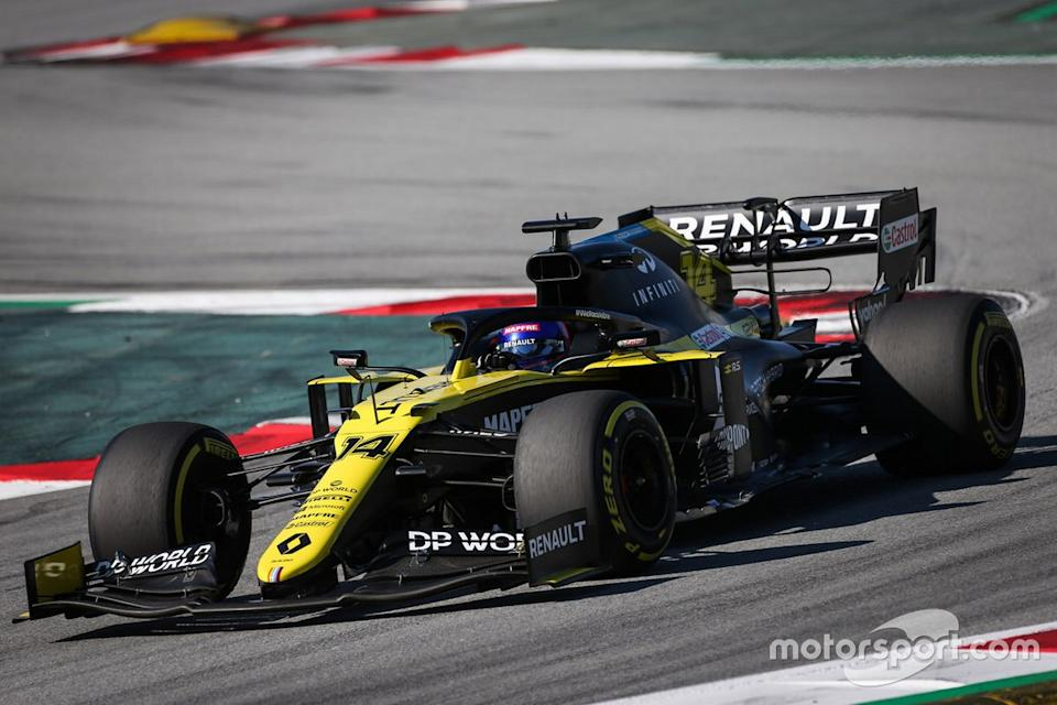 "Fernando Alonso, Renault F1 Team<span class=""copyright"">Renault </span>"