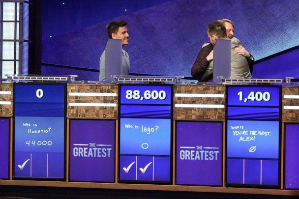 PHOTO: 'Jeopardy! The Greatest of All Time,' on Jan 14, 2020. (Eric Mccandless/ABC)