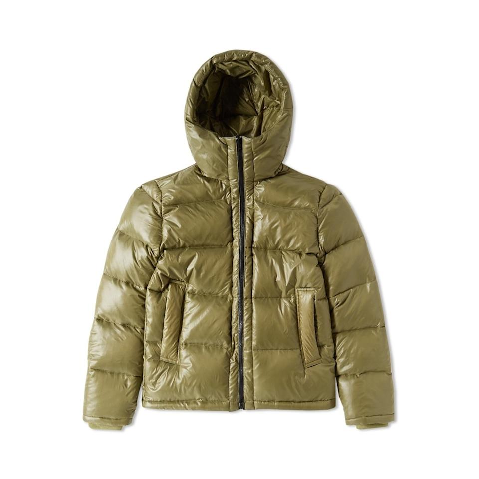 "<p><em>$249, available at <a rel=""nofollow"" href=""http://www.endclothing.com/us/mki-hooded-down-jacket-mki-hdj-ol.html?mbid=synd_yahoostyle"">endclothing.com</a></em></p>"
