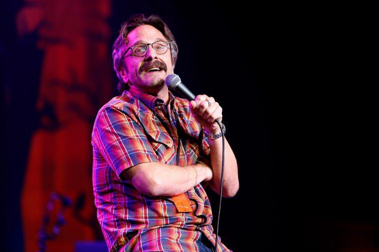 Marc Maron knows how to handle hecklers. (Photo: Randy Shropshire/Getty Images)