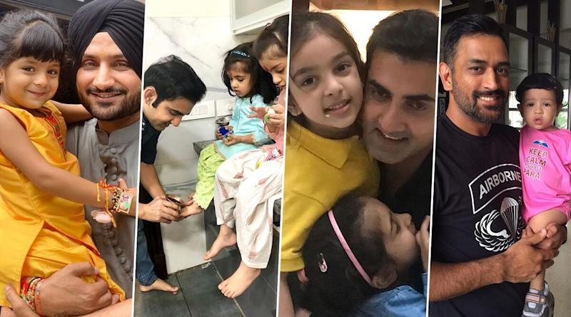 Indian Cricketers and Their Daughters' Photos! From Ajinkya Rahane to Rohit Sharma to MS Dhoni, Check Cute Pics of Players With Their Little Princesses
