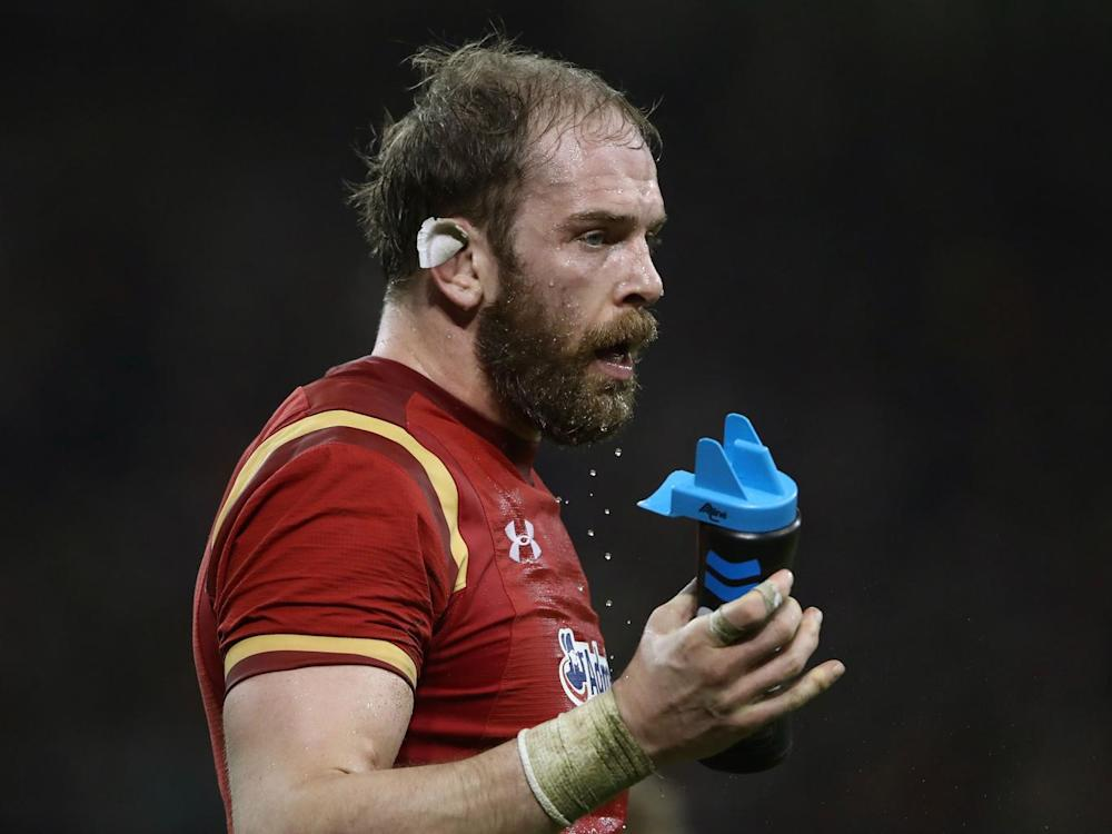 Alun Wyn Jones was an able deputy for Warburton in 2013 (Getty)